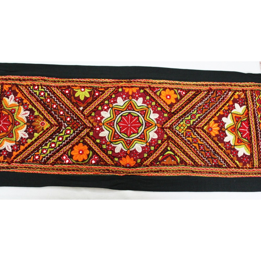 Antique Embroidered Handcrafted Cushion Covers and Table runner